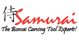 Samurai Bonsai Carving Tools Logo